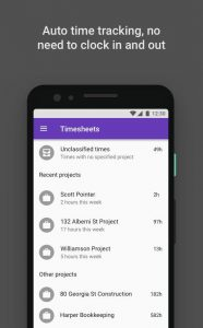 Time squared - automated geolocation timesheets, free work hour tracker